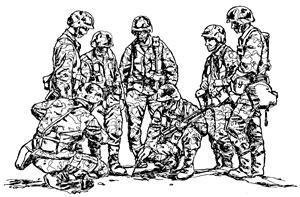 people_army_patrol