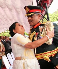 Sarath Fonseka promoted to rank of Field Marshal (7)