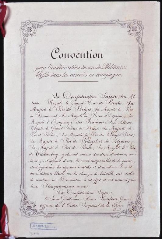Geneva Convention 1864
