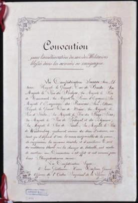 Geneva Convention 1864